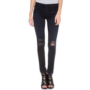 NWT J Brand Destroyed Mid Rise Skinny Jean